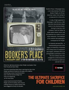 Bookers Place Ad